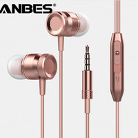 Sport Super Bass Stereo Earphone 3.5mm Jack Headset Hands Free Headphone with Mic Music Earphone for All Phone Computer PC