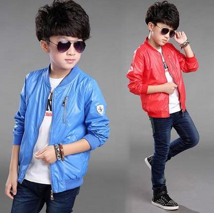Boy coat Autumn Korean version of casual clothing children autumn jacket big virgin baby coat Spring