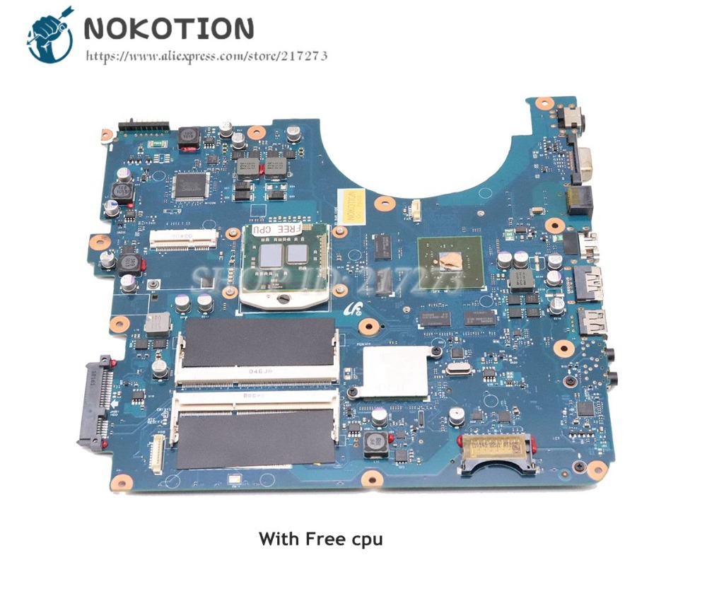 NOKOTION BREMEN-M For Samsung NP-R780 R780 Laptop Motherboard 17 Inch GT330M 1GB DDR3 Free CPU BA92-06145A BA92-06145B NOKOTION BREMEN-M For Samsung NP-R780 R780 Laptop Motherboard 17 Inch GT330M 1GB DDR3 Free CPU BA92-06145A BA92-06145B