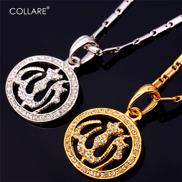 Collare Crystal Allah Necklace Women Men Jewelry Gold/Silver Color Rhinestone Islamic Muslim Necklaces Religious Necklace P582