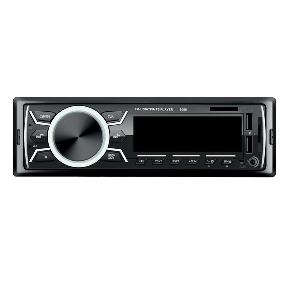 LaBo автомобильный Радио стерео плеер Bluetooth телефон AUX-IN MP3 FM/USB/1 Din/пульт дистанционного управления 12V автомобильный аудио Авто 2019