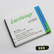 New Brand BL192 / BL 192 Rechargeable Mobile phone Battery For Lenovo A300 / A750 / A388T / A529 / A680 / A590