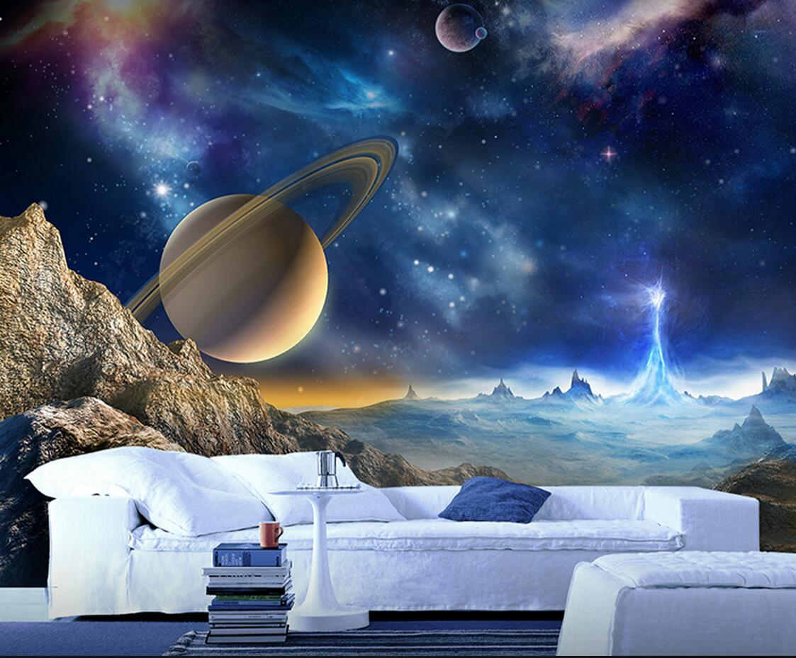3D Embossed Moon Star Photo Wallpapers Murals for Kids Bedroom Living Room Wall Decorative Wall Papers Wallpaper for Walls 3 d sea world 3d wallpaper murals for living room bedroom photo print wallpapers 3 d wall paper papier modern wall coverings