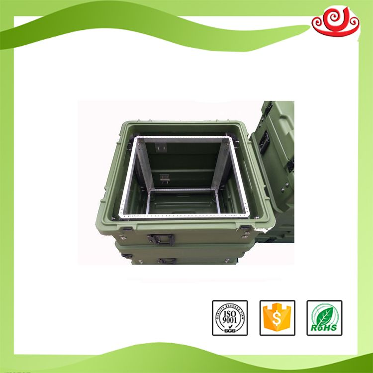 Tricases RU110 RU-Series 19'Rack Cases Shockproof Dustproof Watertight For Computer Mainframe Server Equipment Case