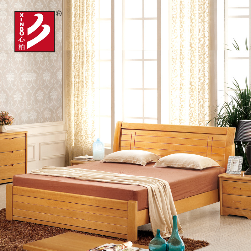 Wooden Home Furniture Beech Wood Bed Bedroom Sets Double Bed Design Furniture Bed Bedroom Furniture Furniture Bedbed With Dressing Table Aliexpress