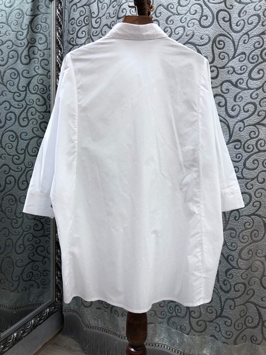 Femme Évider Chemises Mode De Haut Imprimé Nouveau Revers Pour 226 Vêtement Gamme 2019 0wUacCqn