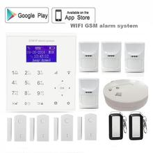 QOLELARM 433Polish Spanish Wireless wifi gsm Home Alarm System pet friendly PIR Android/IOS APP door sensor rechargeable battery