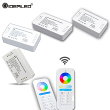 Wireless WIFI Controller 2.4GHz RF Wireless RGBW Controller DC12V-24V RGB led strip rgbw controller with 8 zone remote Control цены онлайн