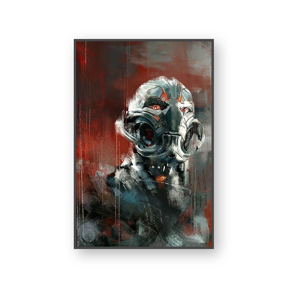 Настенный художественный холст с печатью постера, настенные картины для домашнего декора, Марвел, Мстители, фильм супергерой, Дэдпул, Железный Человек-паук, Локи - Цвет: L394K