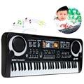 61 Teclas de Música Digital Educación Regalo Regalo Teclado Electrónico Teclado de Piano Eléctrico Pianos Teclados Electrónicos