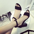 Hot Sales New 2017 Summer Fashion Woman Sandals Roman Sexy Thick With High Heels Joker Casual Shoes
