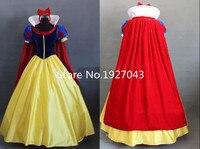 Kostenloser versand Frauen fantasia Prinzessin Schneewittchen Cosplay Kostüm Karneval Disfraces Party Frauen Erwachsene Schneewittchen Kostüme