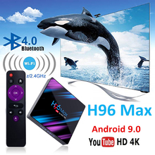 android tv box 4K smart tv box h96 max RK3318 Support Online Youtube android box 9.0 Wifi Google player Netflix Youtube box tv h96 max usb 3 0 rk3318 android box smart tv box android 9 0 4k hdmi 2 0 smart tv box google play youtube usa unblock