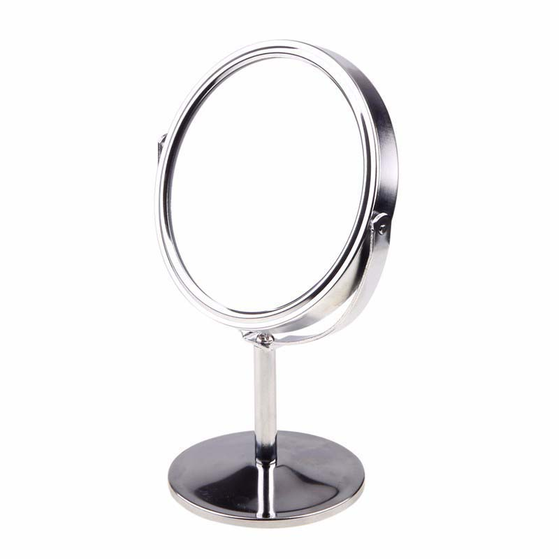 Great Round Oval Shape Cartoon Women Lady Home Use Table Mirror Standing Dresser  Cosmetic Makeup Mirror Double Sided Heart  In Hair Clips U0026 Pins From Beauty  ...