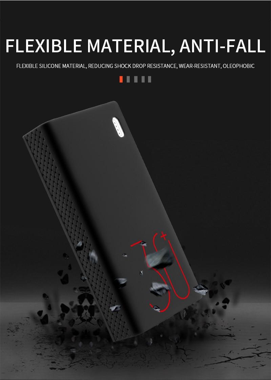 Силиконовый защитный чехол для 30000mAh Romoss sense 8/8+ мобильный мощный Мягкий Силиконовый противоударный/Противоскользящий Чехол для мобильного телефона
