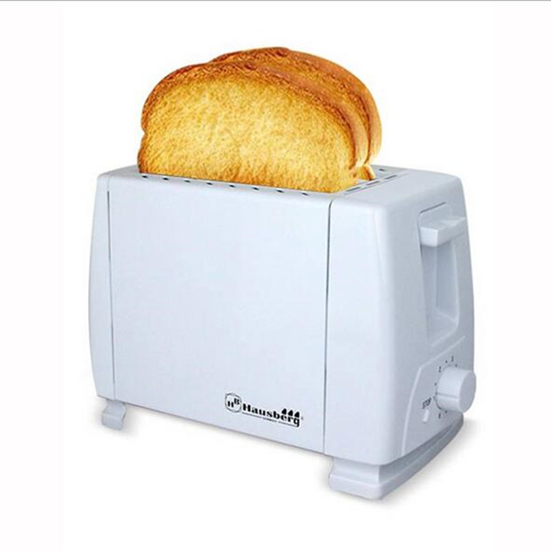 ФОТО Toaster New Arrival Household Stainless Steel 2 Slices Toaster Bread Toast Machine For Breakfast Bread Maker