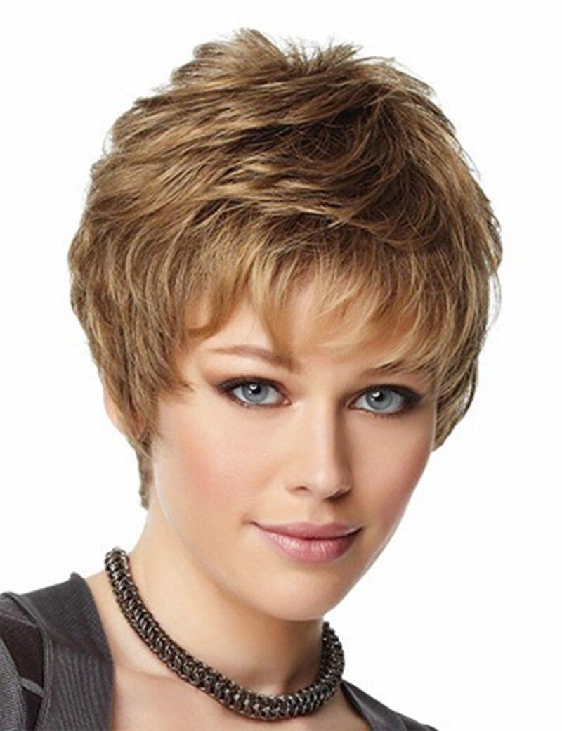 anime cabello corto cortar la peluca negro mujeres bob rizado moda del pelo sinttico pelucas llenas with pelos cortos rizados mujer