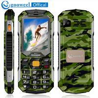 Gooweel GW2000 Cellphone Phone 1800mAh Long Standby Power Bank Dual Sim Card Flashlight FM Radio Bluetooth