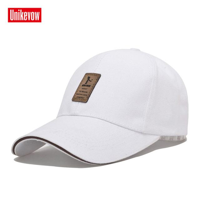 1Piece Baseball Cap Men's Adjustable Cap Casual leisure hats Solid Color Fashion Snapback Summer Fall hat