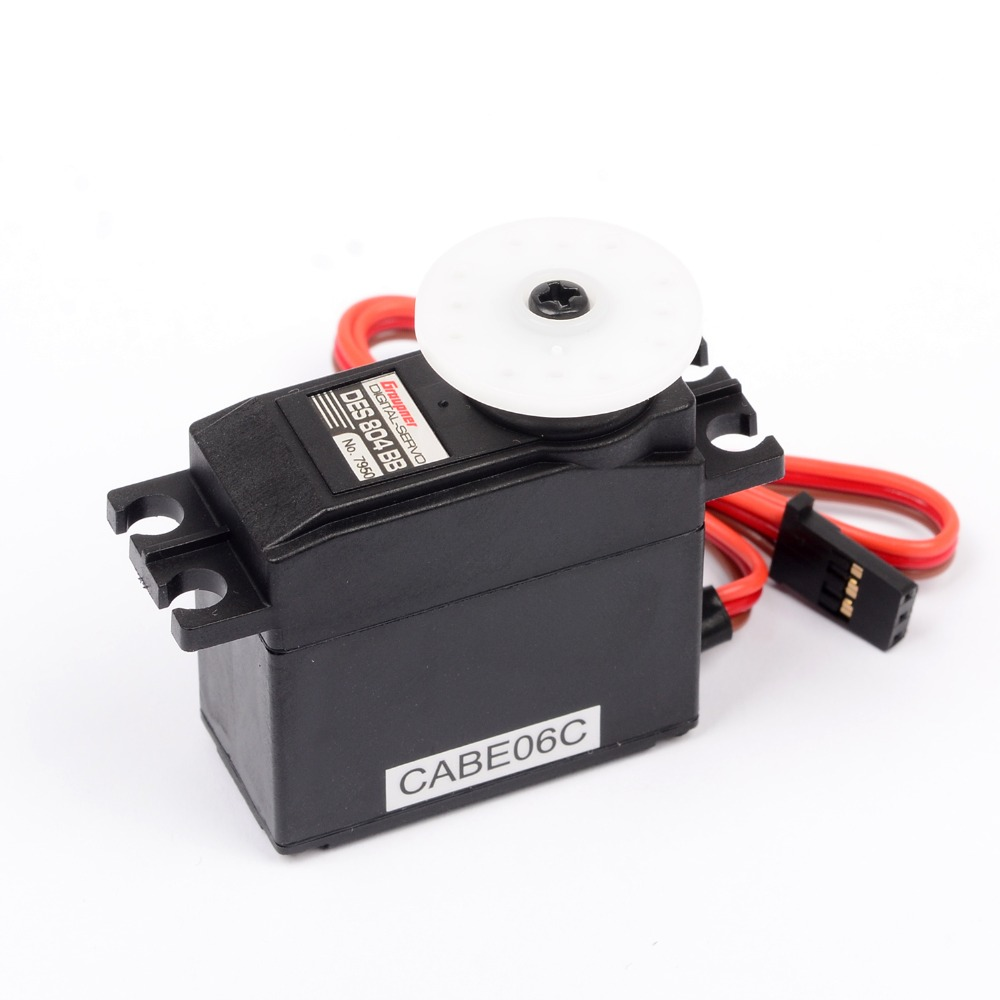 Graupner DES 804 BB Torque Coreless 19.5mm Digital Servo For RC Helicopter Model Airplanes Mini Steering Gear Micro Servo аксессуар защитная пленка borasco для ipad air прозрачная
