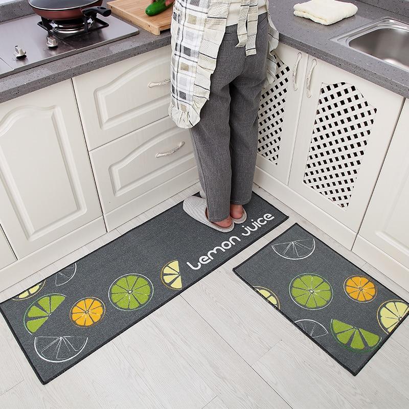 40x60/40x120CM Kitchen mats into the door mats carpet long strip non ...