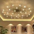 Потолочные светильники G4  индивидуальное освещение  простые современные скандинавские железные художественные светильники и фонарики  ла...