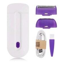Photoepilator Depiladora Facial Laser Hair Removal Epilator Women Bikini Shaver USB Rechargeable