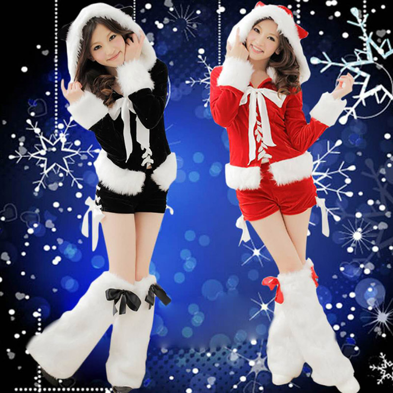 2018new fashion Christmas suits adult women Christmas costume cosplay costume cute girls act as costumes