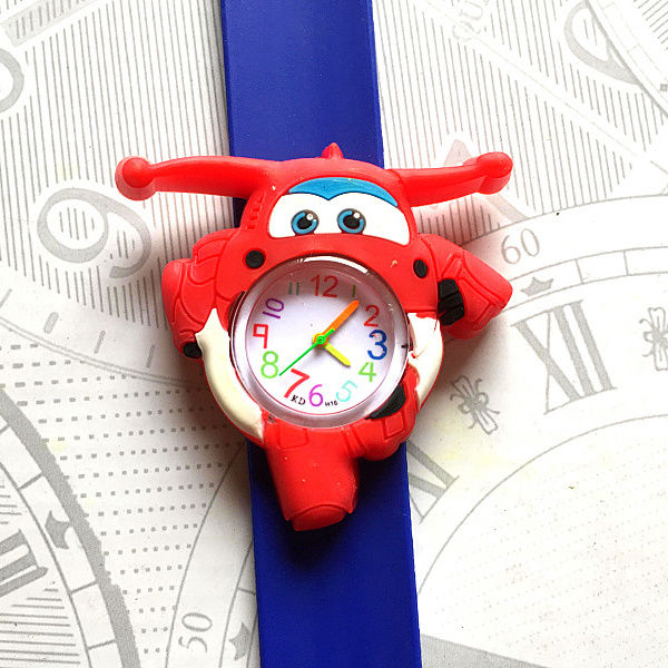 Fashion Hbibi Brand Bee Kids Slap Pat Watches Sport Chicken Children Wrist Watch Student Hot Sale Baby Gift Child Quartz Watch Watches