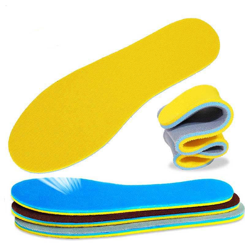 1 пара, женская и мужская обувь с эффектом памяти, стельки, абсорбирующие дезодорирующие вставки для ухода за ногами, мягкая обезболивающая обувь, подушка для обуви