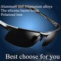 Masculino óculos de sol masculinos polarizada óculos de sol Dos Homens óculos de sol de alumínio e magnésio esportes óculos de sol
