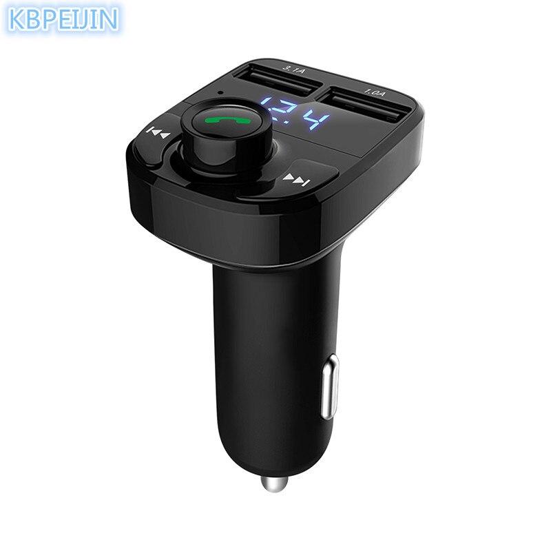 Bluetooth автомобильный комплект fm передатчик Handfree двойной зарядное устройство USB Стайлинг для peugeot 307 308 207 3008 2008 407 508 206 аксессуары