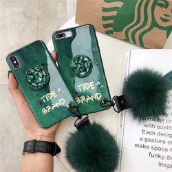 Silicone Cases For iPhone 8 Plus 6 6s 7 Plus Cover For Case iPhone X XS Max XR 6 6S 7 8 Shockproof Bumper Rhinestone Holder Tide 1
