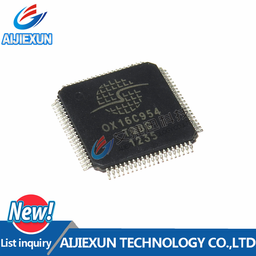 1Pcs OX16C954-TQBG QFP 100 % New and original 1pcs mc9s12dp512 mc9s12dp512cpve qfp