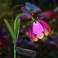 Светодиодный светильник на солнечной батарее, уличный садовый наземный светильник, садовый ландшафтный светильник