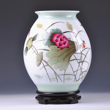 of Jingdezhen ceramics works of famous summer national security charge interest Home Furnishing high-grade decoration