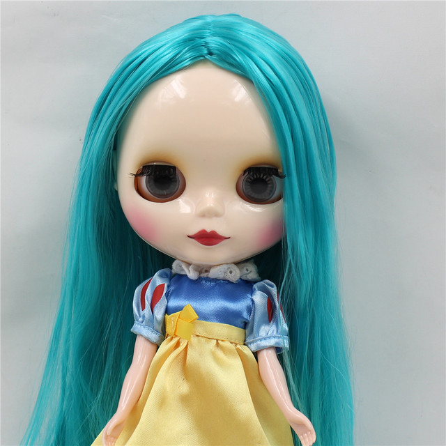 TBL Neo Blythe Doll Blue Hair Regular Body