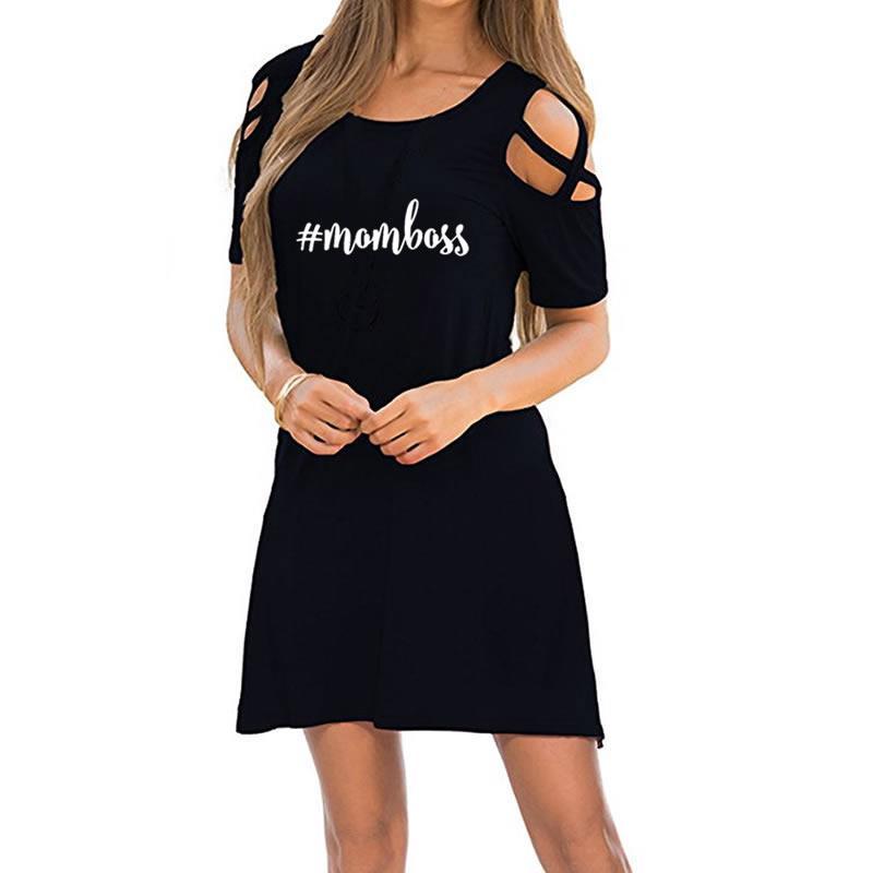 2018 New Fashion Mom Print Dress Maxi Women Dresses Vestidos Beach Cheap Clothes China Denim