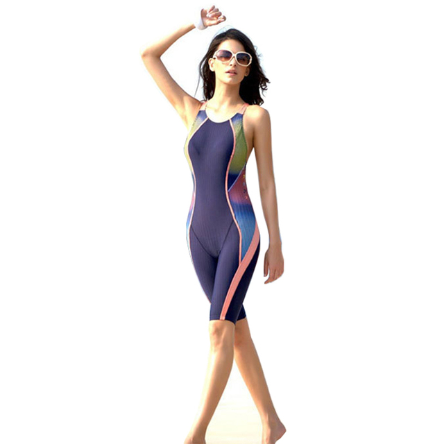 2d69b0c4c7 SO522-5 Professional Swimsuit Women Swimwear Sports Racing Competition Sexy  Leotard Tight Lady Bodybuilding Bathing Suit XXL