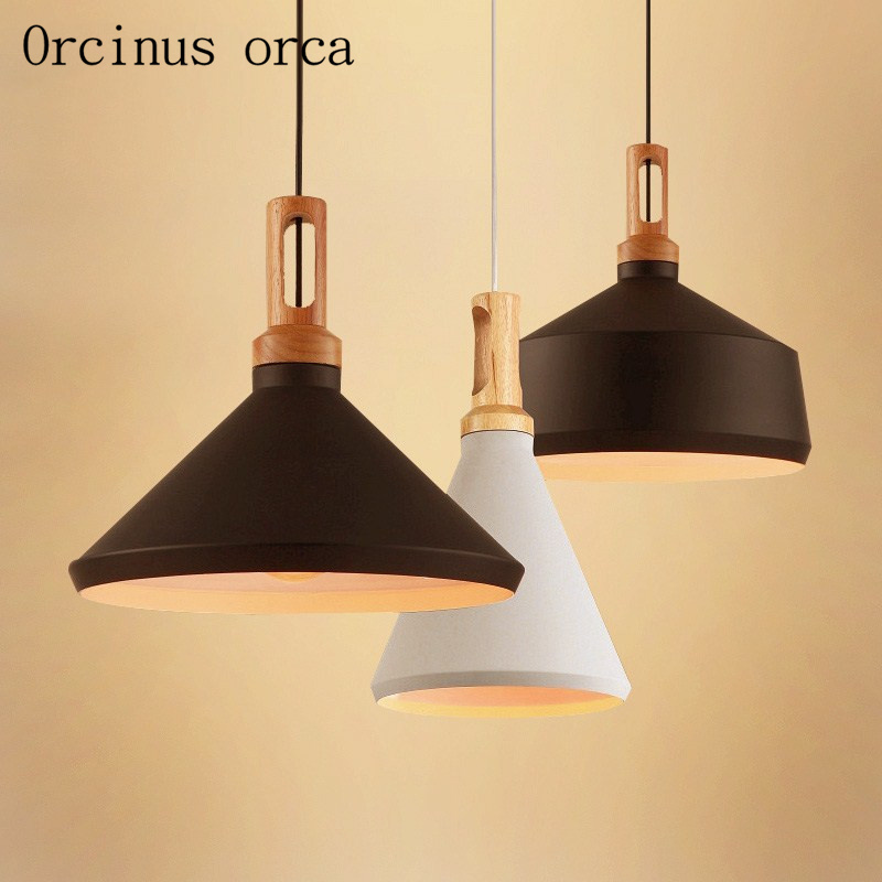 Nordic simplicity  originality  personality bar  coffee shop  retro industrial wind  three single head test bottle Pendant lamp|Pendant Lights| |  - title=