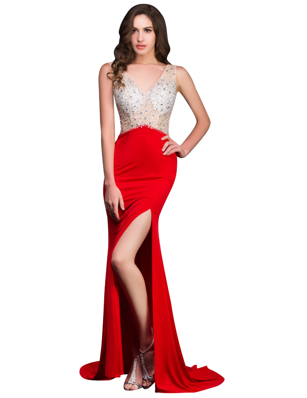 Prom Dress,Unique Prom Gown,A-Line