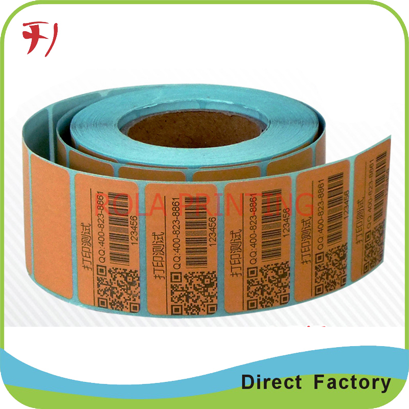 Customized Qr code sticker printing