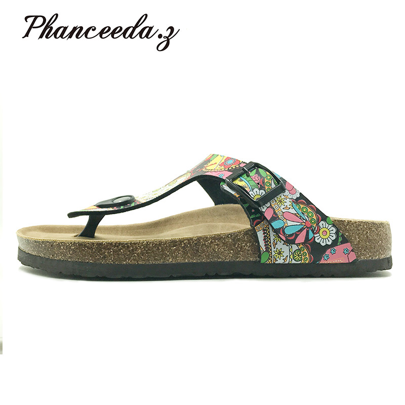 Plus Size 4-11 Summer Shoes Womens Orthotic Sandals 2018 Cork Sandal Good Quality Slip-on Casual Slippers Classics Flip Flop