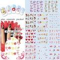 2015 BeautyNailArt 90 Hoja/LOT de San Valentín de uñas clavo de La Manera etiqueta engomada del arte de pegatinas para uñas producto sistema de desarrollo de CONOCIMIENTOS de uñas ESCULPIDAS
