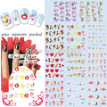 2015 BeautyNailArt  90Sheet/LOT Valentine nail sticker Fashion nail art sticker for stickers for nails product KADS NAILART