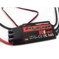 Controlador de velocidad Hobbywing Skywalker 15A 20A 30A 40A 50A 60A 80A ESC con UBEC PARA AVIONES RC helicóptero