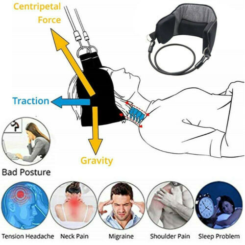 2019 Neck Head For Pain Relief Cervical Traction Device Support Stretcher
