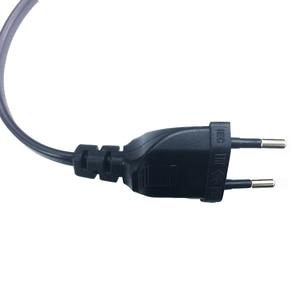 Image 3 - Кабель питания 15 футов, 5 м, угловой, Европейский, переменный ток, 2 в 1, для PS4, ТВ, apple TV box и т. Д.