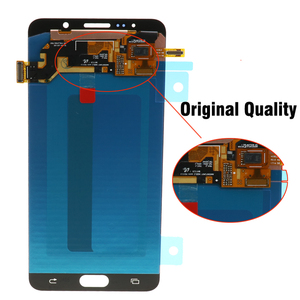 Image 5 - 5.7 OLED QUALITY LCD for SAMSUNG Galaxy Note 5 Display LCD Touch Screen for SAMSUNG Note 5 Note5 N920A N9200 SM N920 N920C