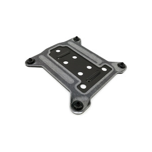 Image 3 - I3 i5 i7 LGAL115X pc金属バックプレート1150 1155 1156 cpu水クーラーブラケット冷却ラジエーターバックプレーン75x75ミリメートル送料無料